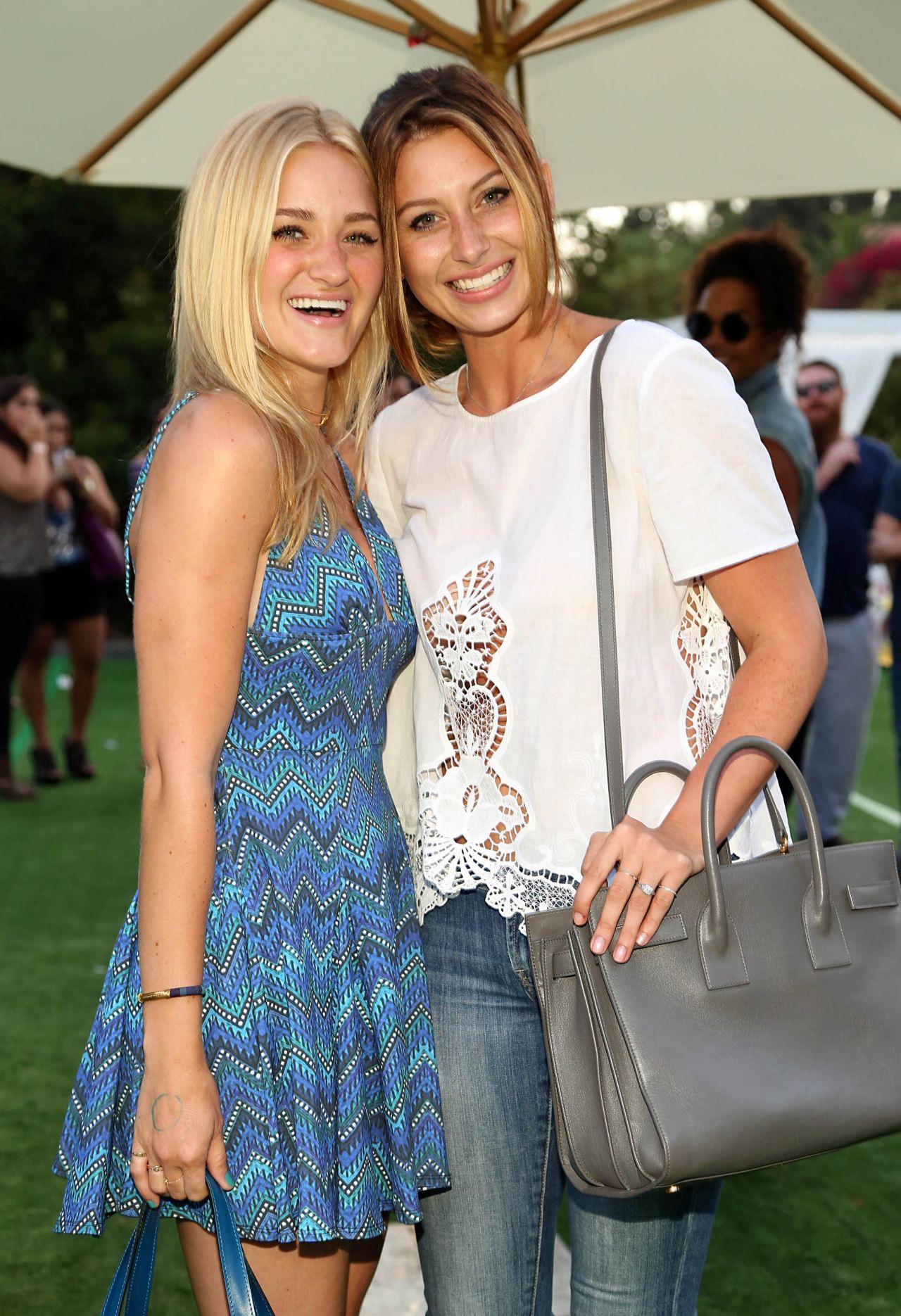 Alyson & Amanda AJ Michalka – 2014 Just Jared Summer Fiesta in West Hollywood