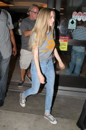 Amanda Seyfried in Jeans at LAX Airport in LA - June 2014