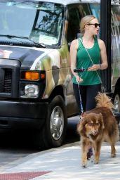 Amanda Seyfried in Leggings - Out in Boston - 7/25/14