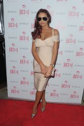 Amy Childs at JuiceToU Anniversary Party in London - July 2014
