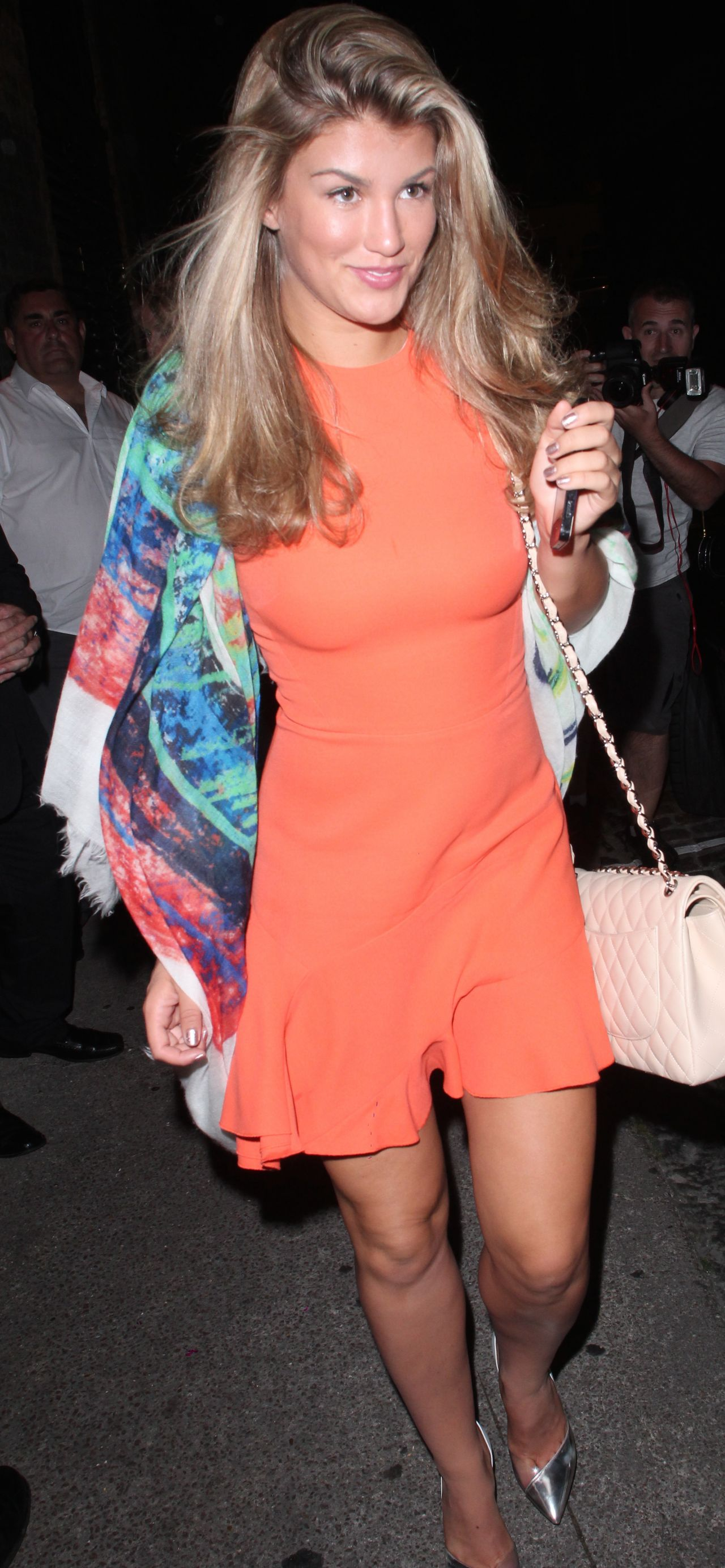 Amy Willerton Night out Style - at Chiltern Firehouse in London - July 2014