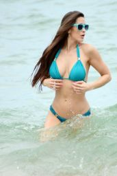 Anais Zanotti Shows Off Her Bikini Body - July 2014
