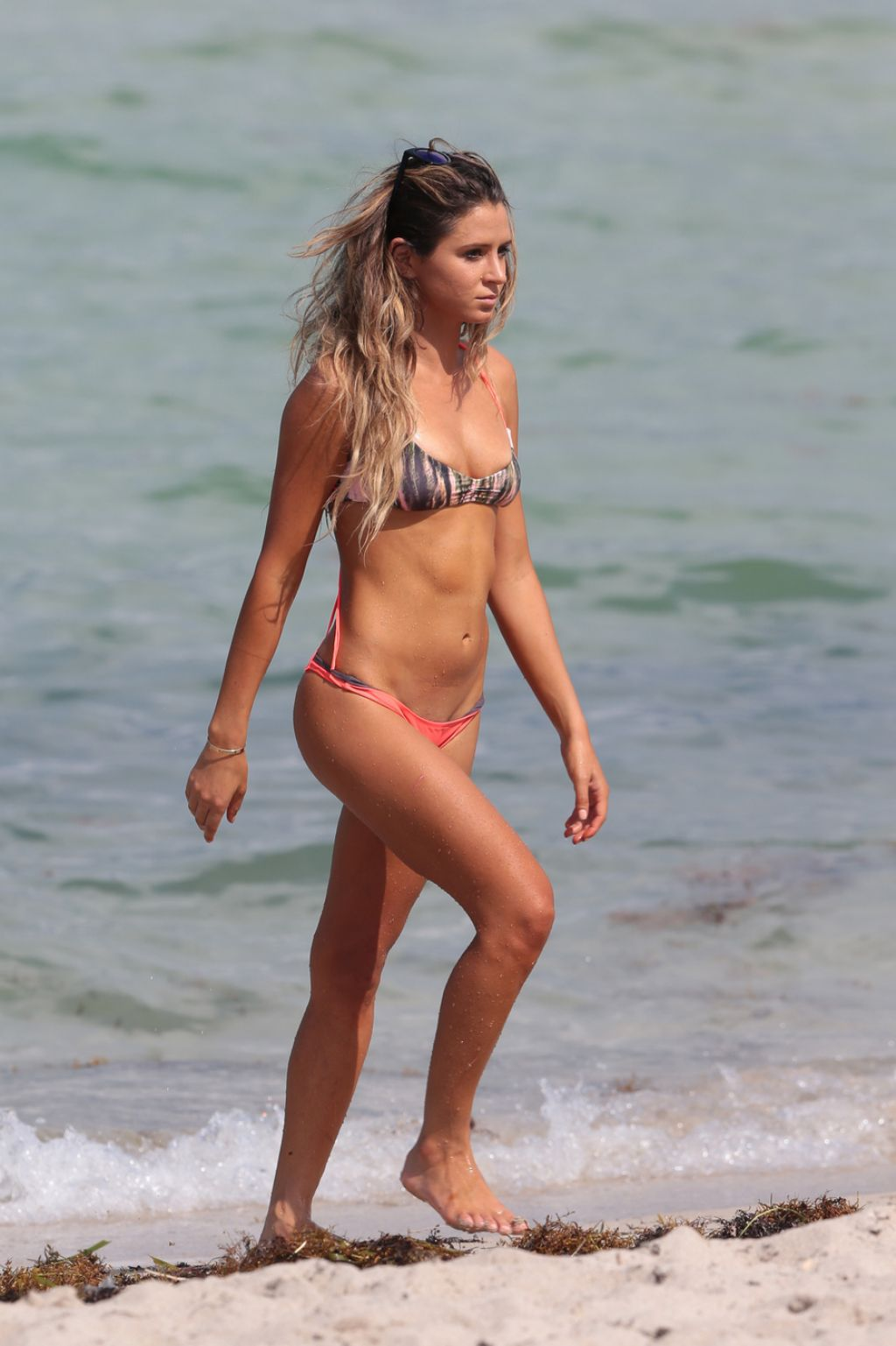 Anastasia Ashley Bikini Candids - Miami, July 2014