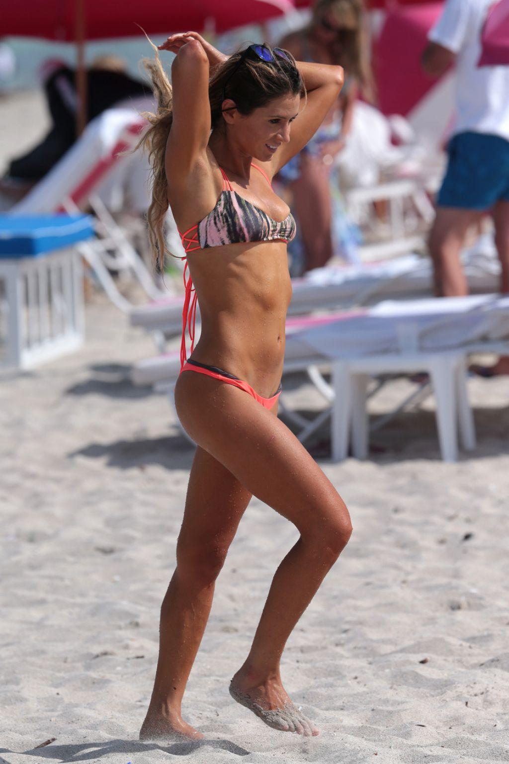 Anastasia Ashley Bikini Candids - Miami, July 2014 ...