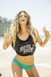 Anastasia Ashley Bikini Photoshoot for Ghetto Juice Magazine July 2014 Issue