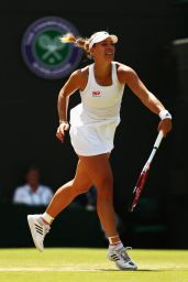 Angelique Kerber – Wimbledon Tennis Championships 2014 Quarter-Final