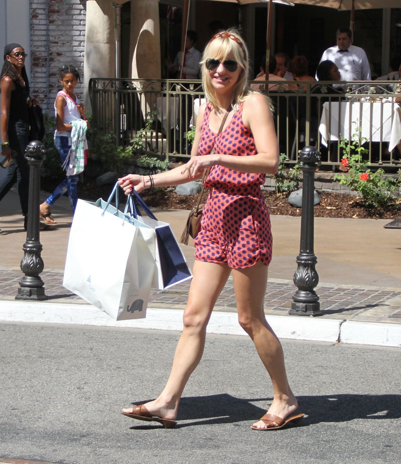 Anna Faris - Shopping in Hollywood - July 2014