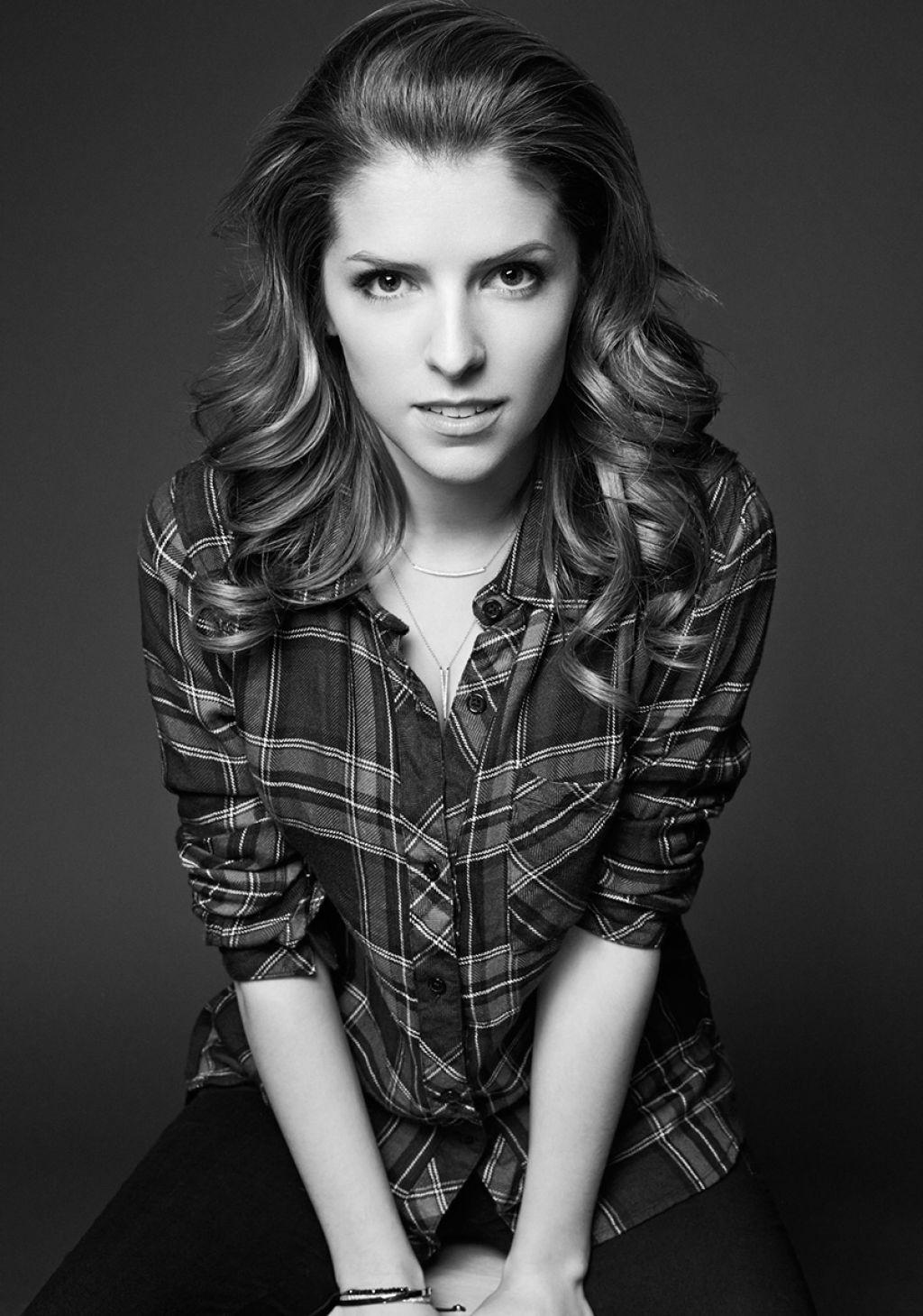 Anna Kendrick Portraits Photoshoot 2014