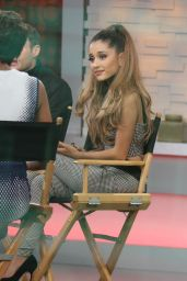 Ariana Grande Appeared on Good Morning America - July 2014