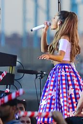 Ariana Grande Performs at Macy's 4th of July Fireworks Spectacular - June 2014