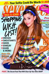 Ariana Grande - Seventeen Magazine September 2014 Issue