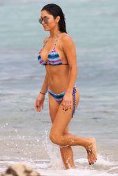 Arianny Celeste Bikini Candids - Miami Beach - July 2014