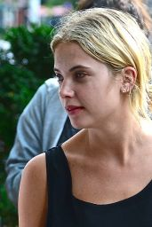 Ashley Benson Street Style - Out  in New York City - July 2014