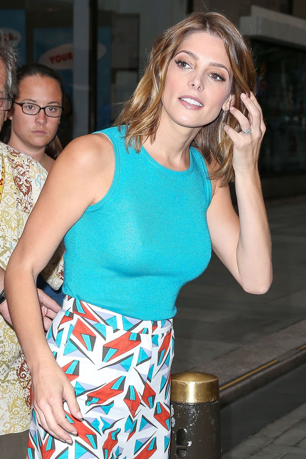 Ashley Greene at NBC Studios in New York City - July 2014