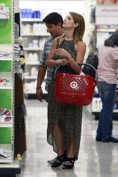 Ashley Greene Shopping at Target in West Hollywood - July 2014