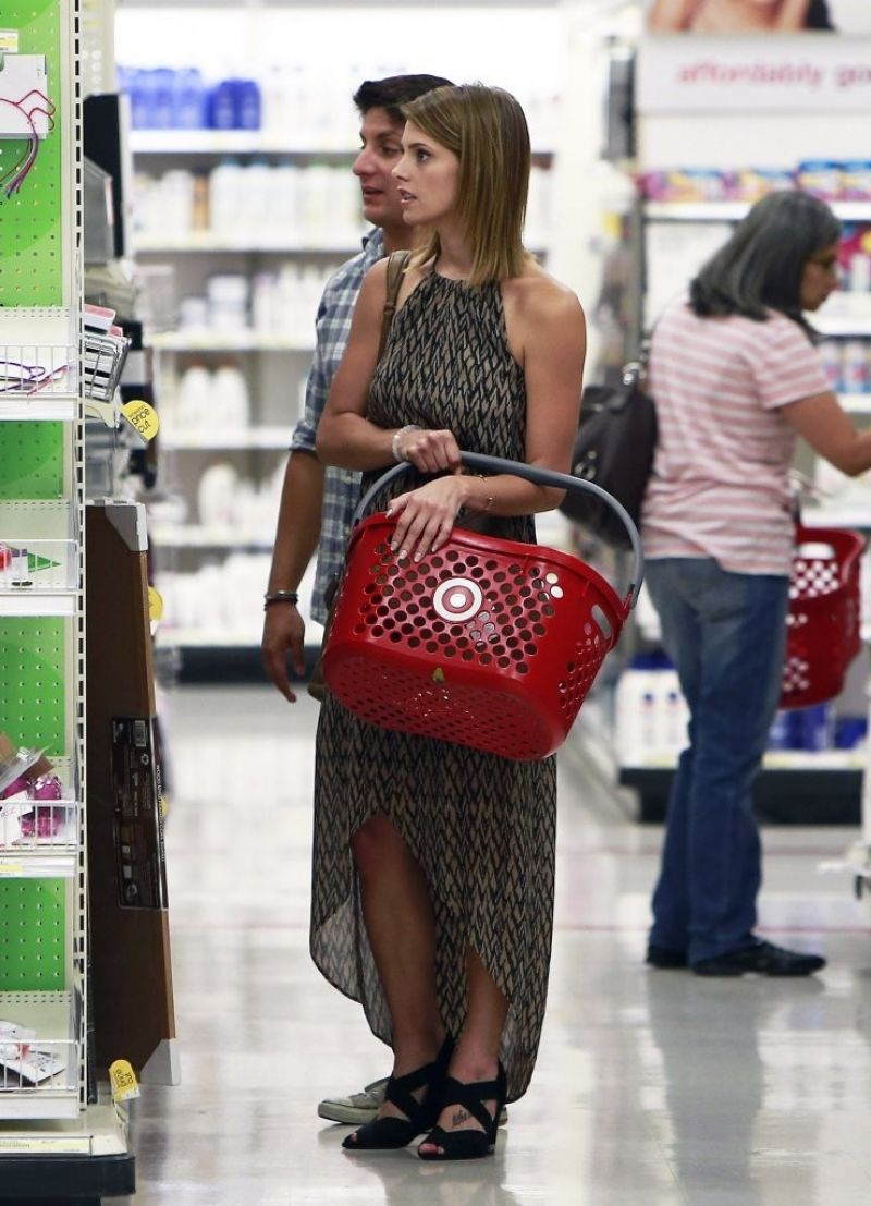 Ashley Greene Shopping At Target In West Hollywood July 2014