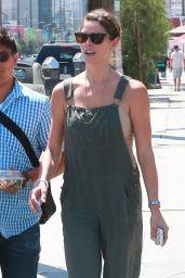 Ashley Greene Street Style  - Meeting Friends for Lunch in LA, July 2014