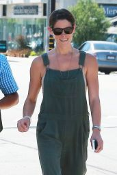 Ashley Greene Street Style  - Meeting Friends for Lunch in LA, July 2014