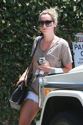 Ashley Tisdale in Shorts - Out in Studio City - July 2014