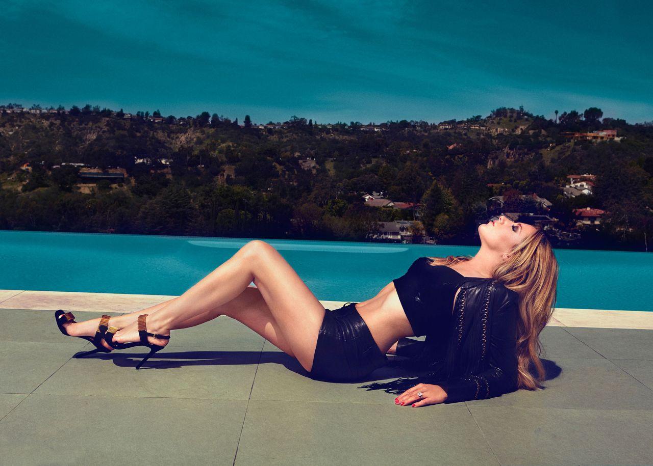 Ashley Tisdale Photoshoot For Bello Magazine August 2014