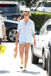 Ashley Tisdale Shopping at Barney