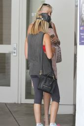 Ashley Tisdale Street Style - Out in Beverly Hills - July 2014