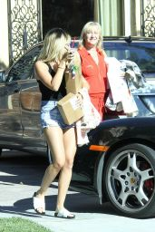 Ashley Tisdale Street Style - Out in Los Angeles, July 2014