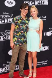 Audrey Whitby Red Carpet Photos - 'Planes: Fire & Rescue' Premiere in Hollywood