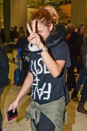 Barbara Palvin at Guarulhos International Airport in Brazil - July 2014