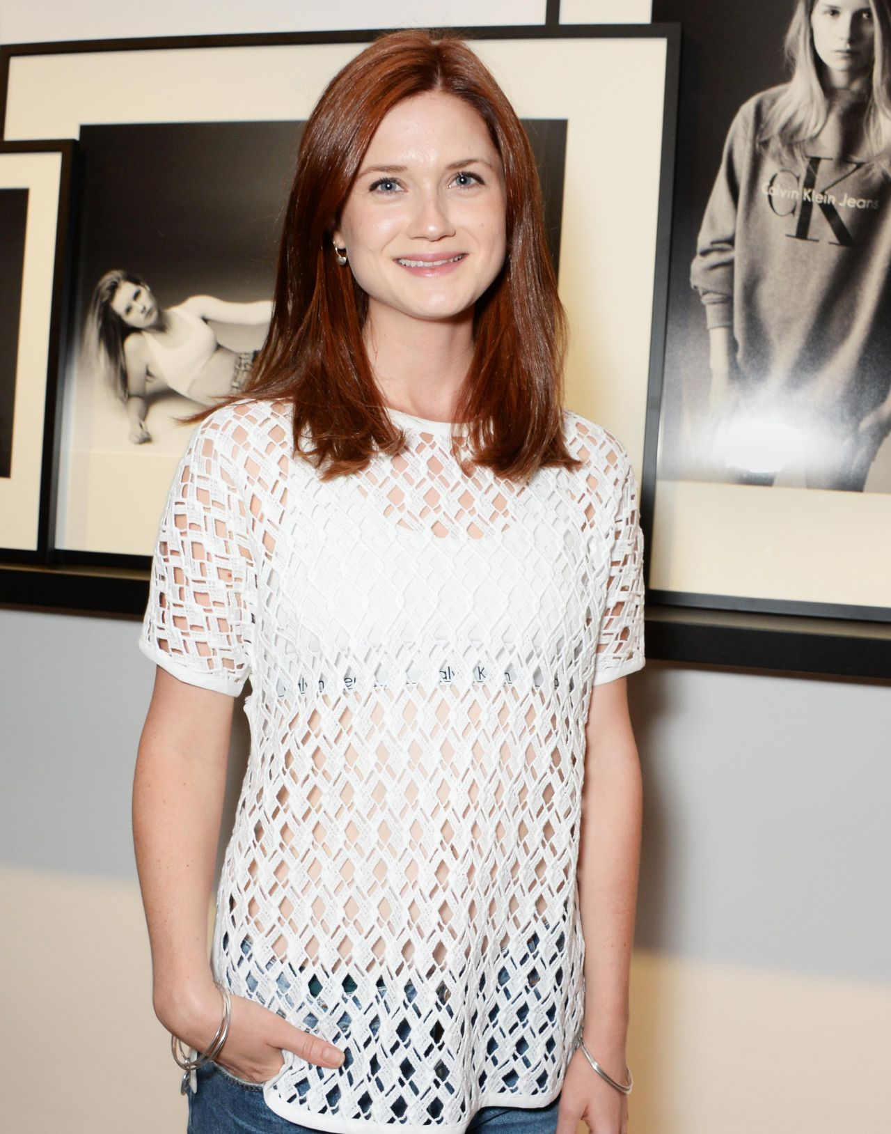 Bonnie Wright at Calvin Klein Jeans x Mytheresa.com Party in London