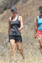 Britney Spears Hiking Candids - Out in Calabasas, July 2014