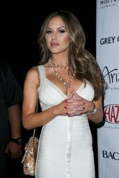 Brittney Palmer at HAZE Nightclub in Las Vegas – July 2014