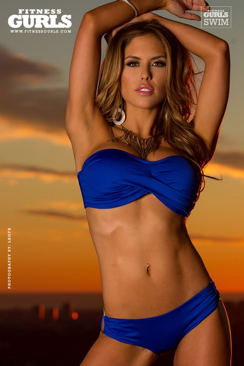 Brittney Palmer Bikini Photos - Fitness Gurls Magazine - July 2014 Issue