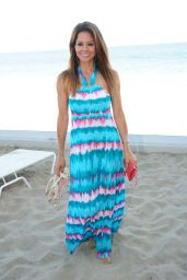 Brooke Burke at the Beach in Malibu - July 2014
