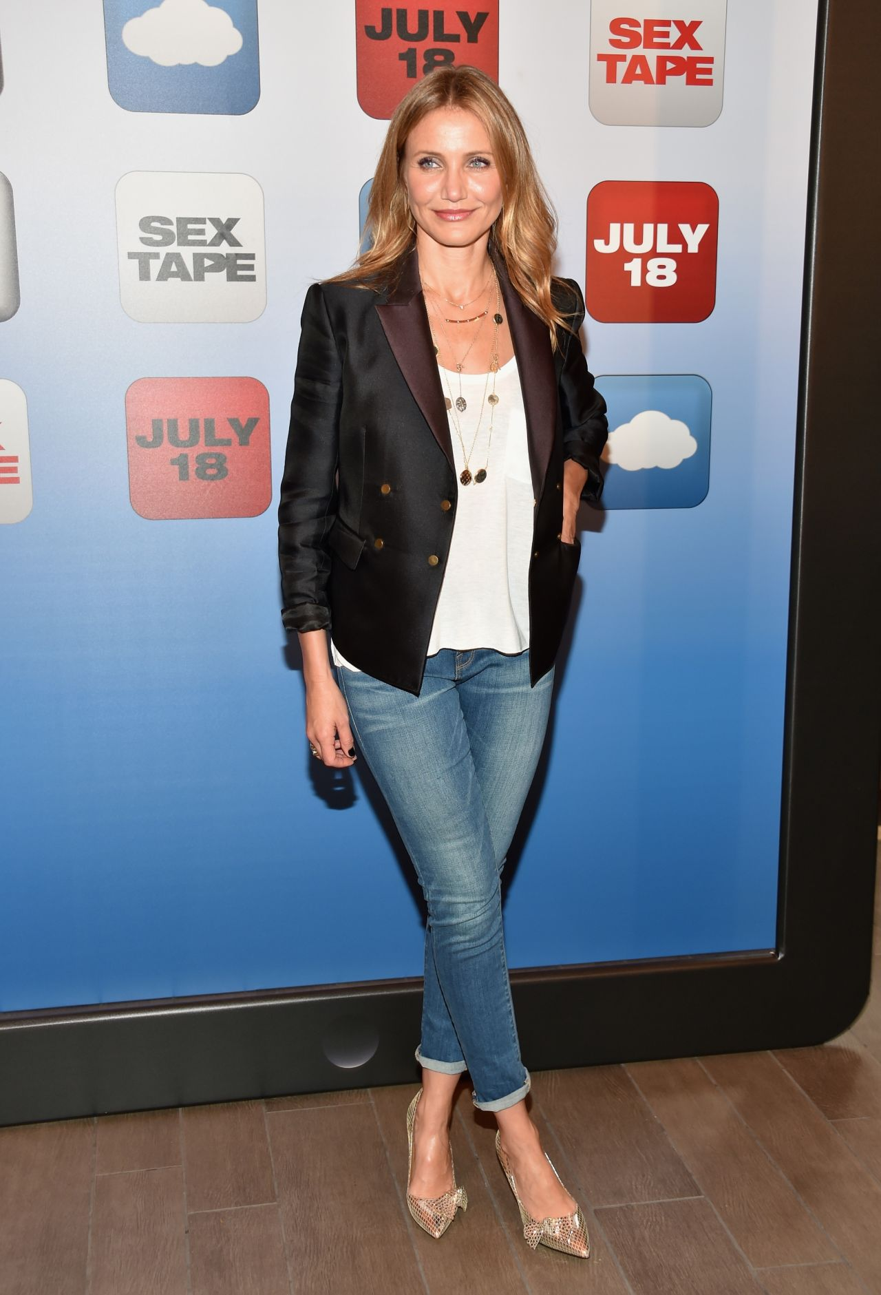 Cameron Diaz  Sex Tape Movie Photocall In Los Angeles-1670
