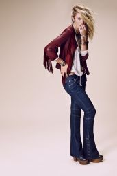Candice Swanepoel - Free People  Catalog - July 2014
