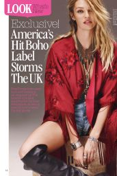 Candice Swanepoel - Look Magazine (UK) - July 7, 2014 Issue
