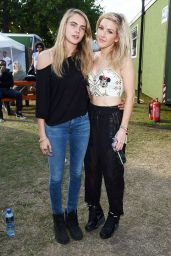 Cara Delevingne at 2014 Wireless Festival in London