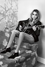 Cara Delevingne - Photoshoot for Topshop Fall/Winter 2014/15