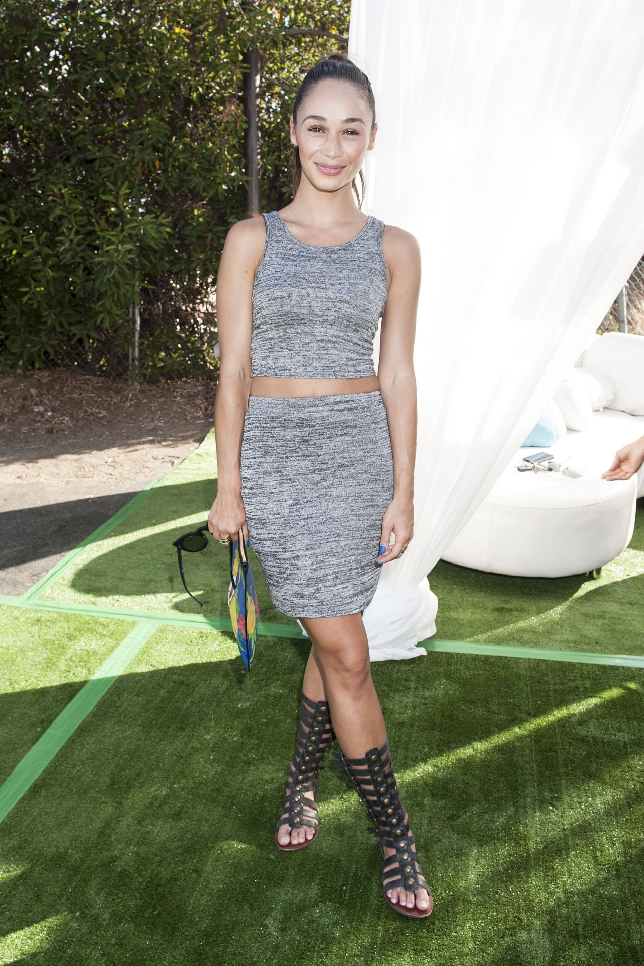 Cara Santana - 2014 Just Jared Summer Fiesta in West Hollywood