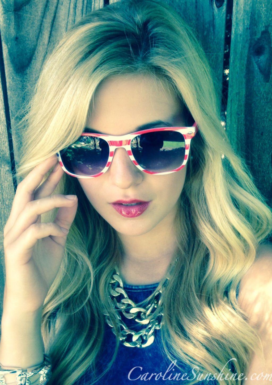 Caroline Sunshine 4th Of July Lookbook 2014