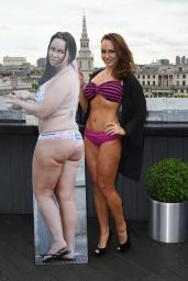 Chanelle Hayes Dramatic Weight Loss at the Vita Bar - London, May 2014