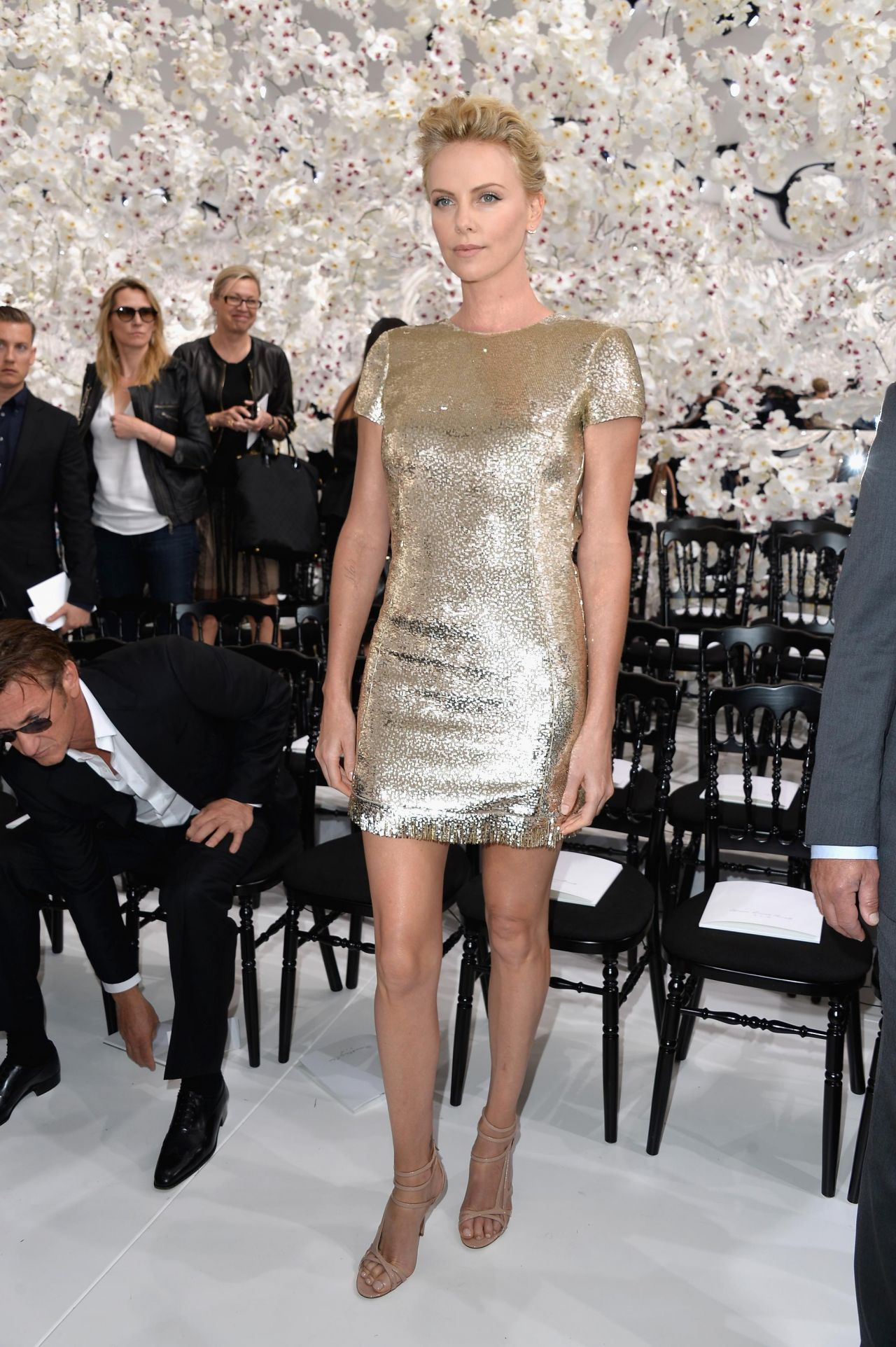 Christian Dior Fashion Show During Paris