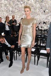Charlize Theron - Christian Dior Fashion Show During Paris Fashion Week - June 2014