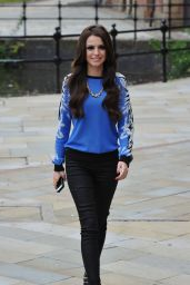 Cher Lloyd in Manchester - Leaving the Key 103 Radio Station
