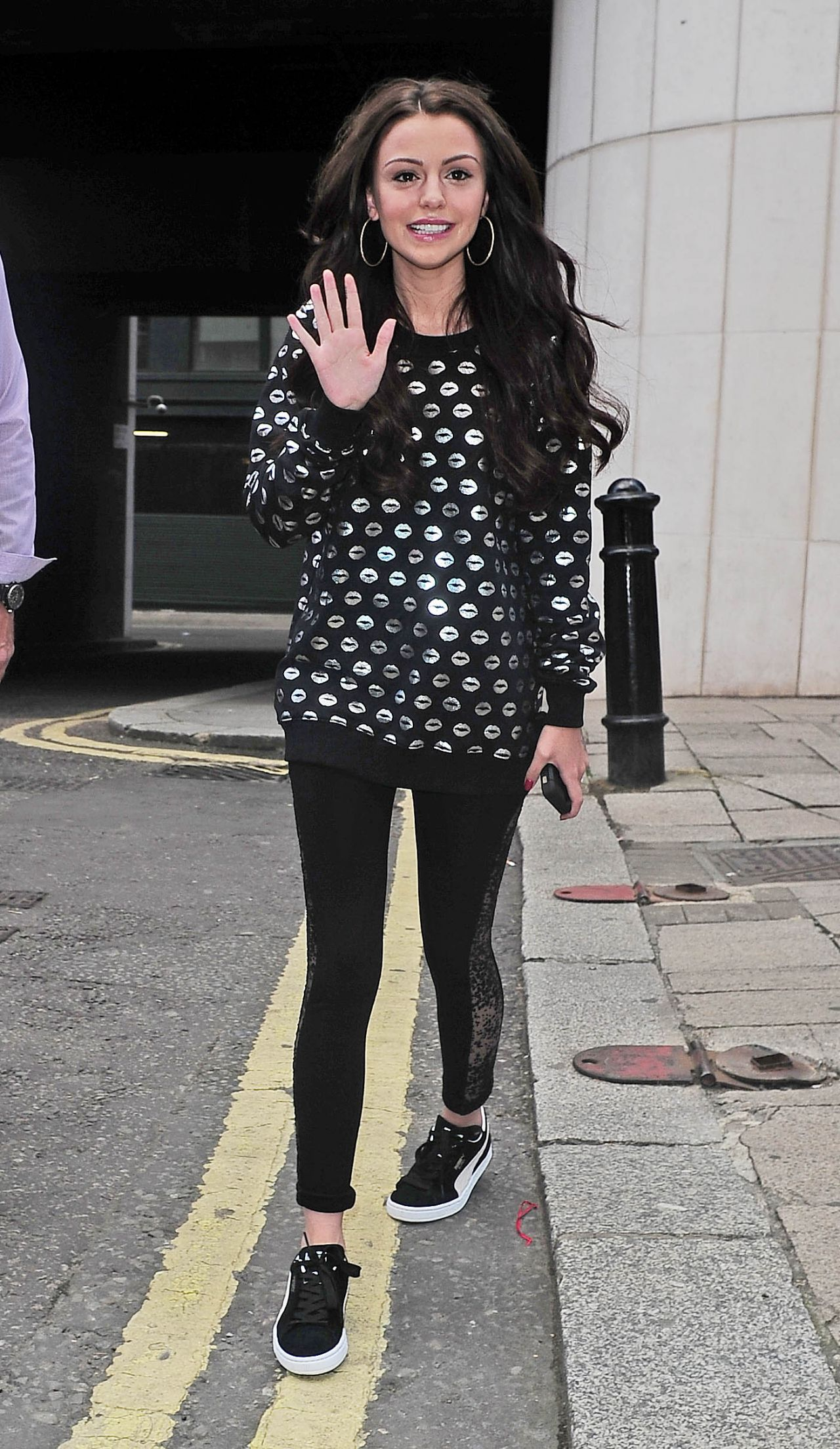 sneakers for cheap new cheap get cheap Cher Lloyd - Out in London, July 2014