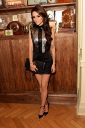 Cher Lloyd Shows Off Her Skinny Legs - 21st Birthday Celebration at Mahiki Club in London