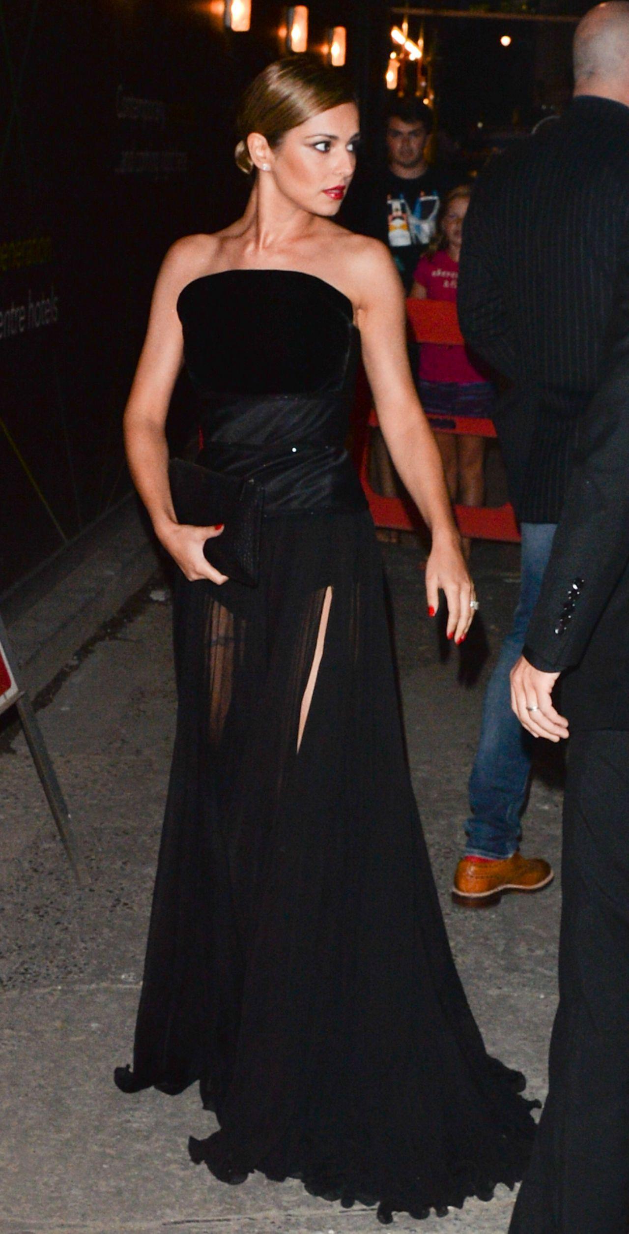 Cheryl Cole (Cheryl Fernandez-Versini) - Wedding Party in London - July 2014