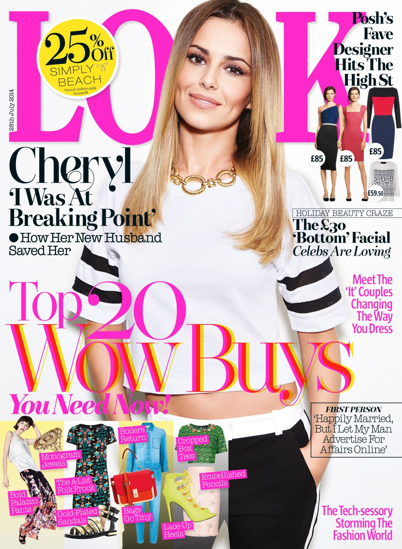 Cheryl Cole - Look Magazine (UK) - July 28th, 2014