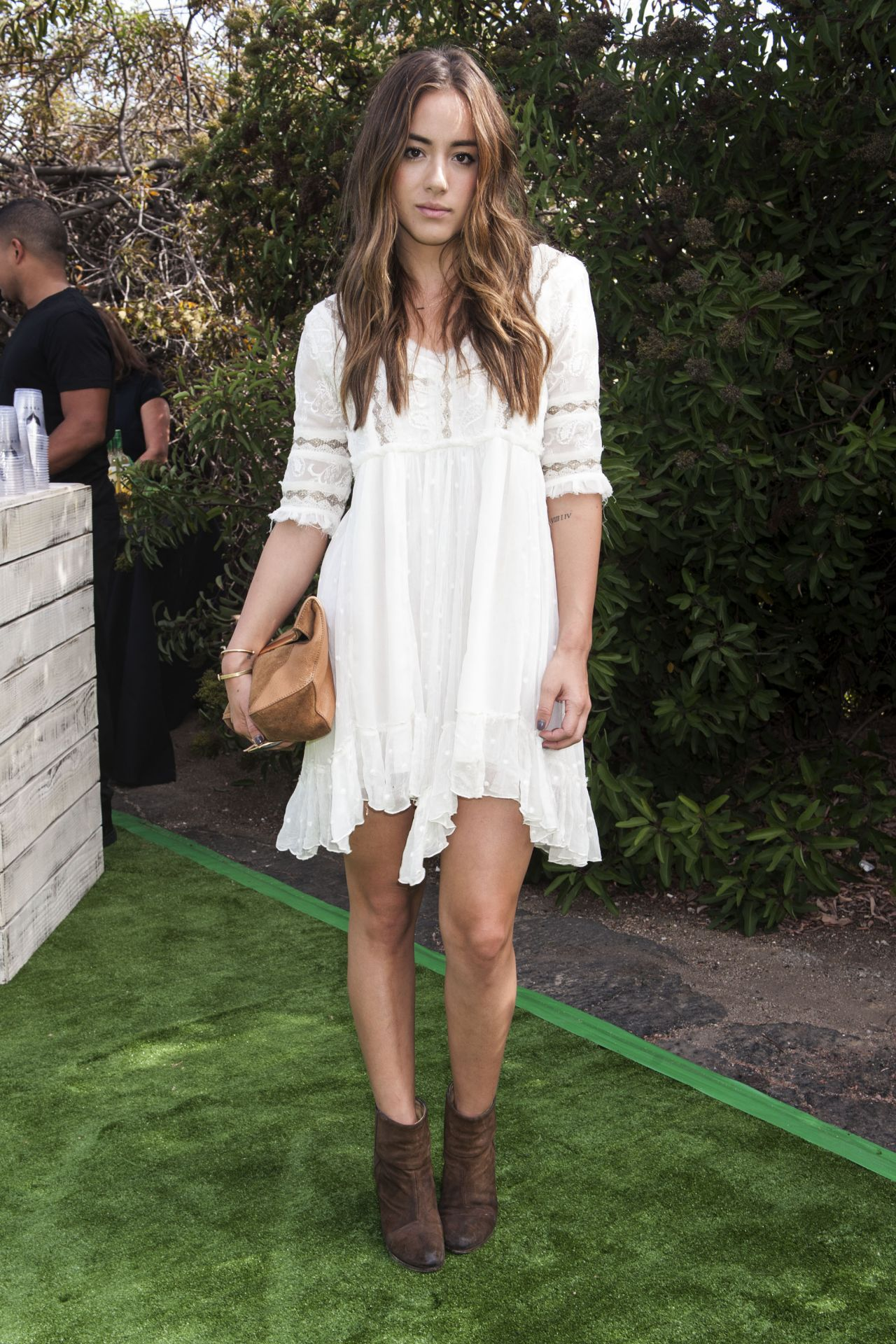Chloe Bennet – 2014 Just Jared Summer Fiesta in West Hollywood